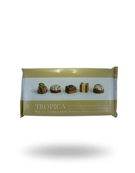 Chocolate Compound White 1kg White Chocolate Compound Baking Bar 1kg Scs Food