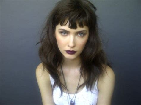 front bangs hairstyles tumblr hipster girl hair style french beauty fashion cut