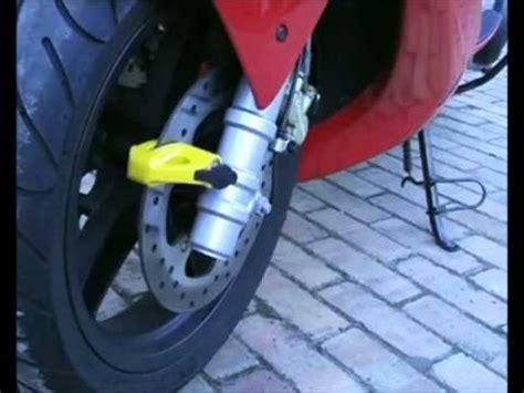 motosiklet disk kilidi nasil takilir