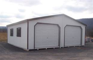 Superior Garden Shed Garage #2: DoubleWideGarage.JPG
