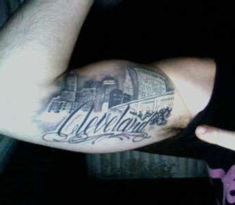 cleveland skyline tattoo the world s catalog of ideas