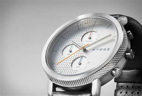 nordic design watches hygge 2204 chronograph