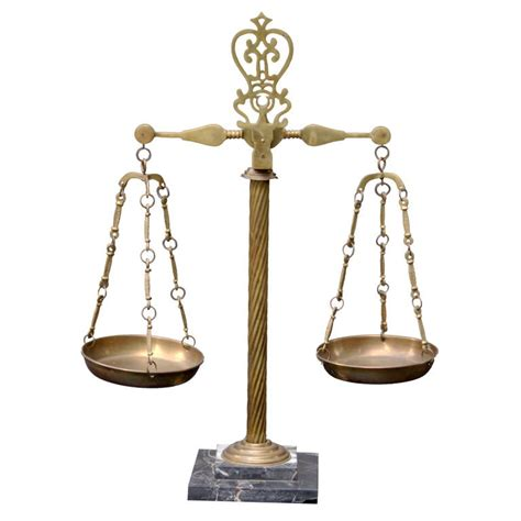 Home Decor Flipkart by Vintage Italian Marble And Brass Apothecary Scales At 1stdibs