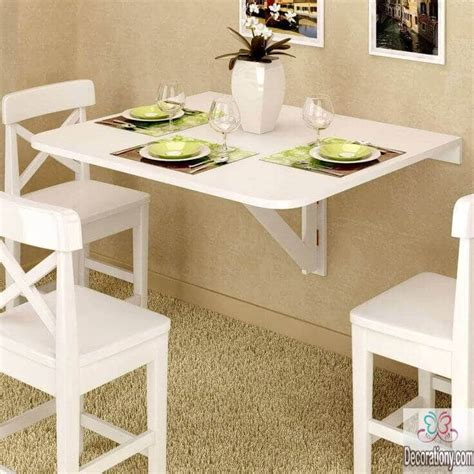 wall mounted dining tables 25 luxury small dining room ideas decorationy