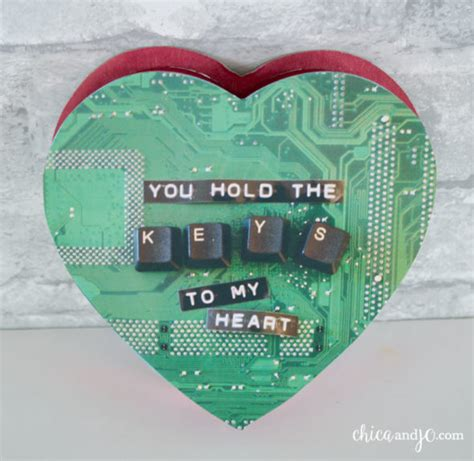 His And Geeky Computer Gifts For Valentines Day by Geeky Chica And Jo
