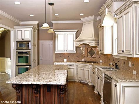 antique white glazed kitchen cabinets timeless kitchen idea antique white kitchen cabinets