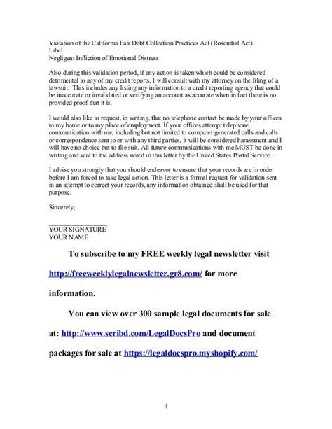 Demand Letter Debt fair debt collection practices act letter docoments ojazlink