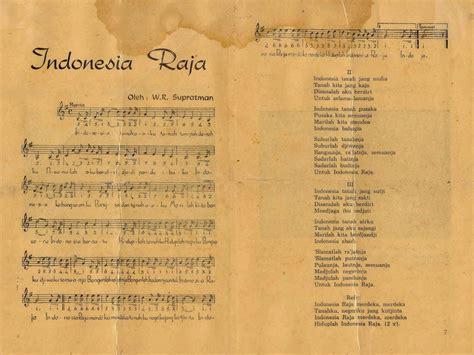 blogger hits indonesia lagu indonesia raya lirik dan partitur asli visiuniversal