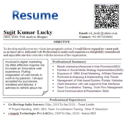 Resume Qr Code Resume Qr Code Career Services
