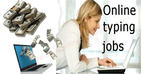 Make Money Online By Typing - online typing jobs part time jobs for college students