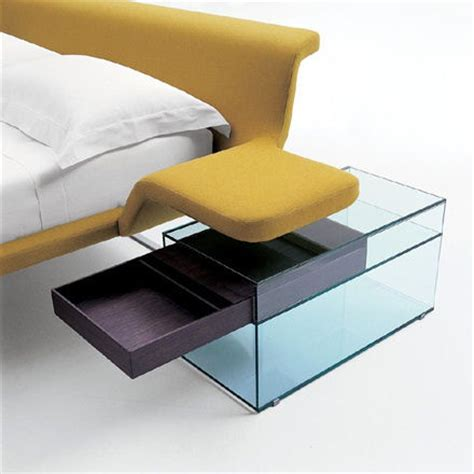 modern side tables for bedroom designer bed from b b italia the new metropolitan bed