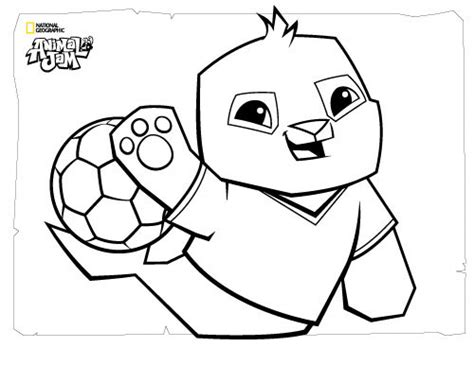coloring pages of animal jam animal jam coloring pages the daily explorer