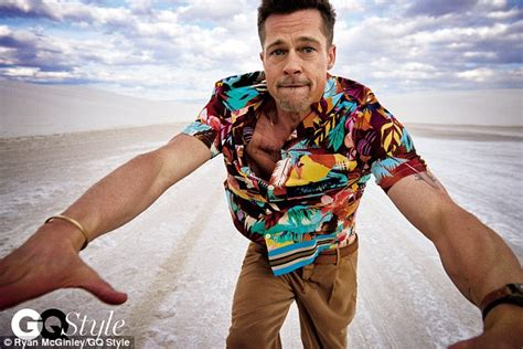 So I Was Going Through His Mail And by Brad Pitt Talks Split In Gq Style Magazine