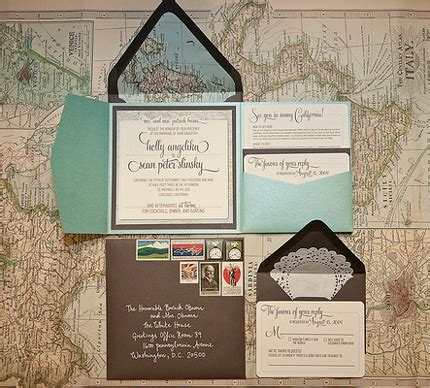 do it yourself themed wedding invitations diy travel inspired invites i do it yourself 174