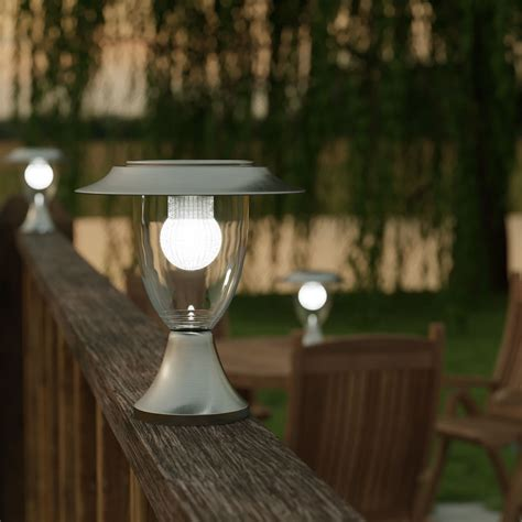Henley Premium Solar Pillar Lantern Solar Lights Solar Solar Lights For Pillars