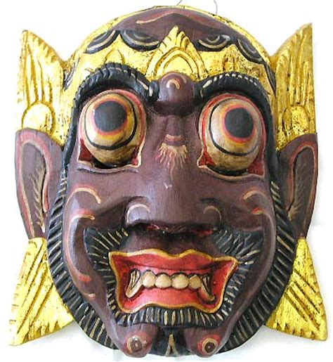 Handcrafted Masks - free form wood designs wholesale unique bali