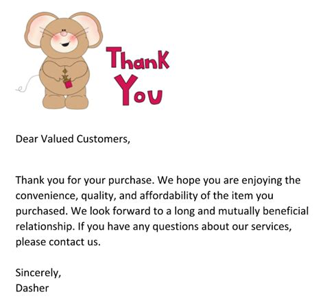 thank you letter to our customers 4 real tips for sellers to improve your