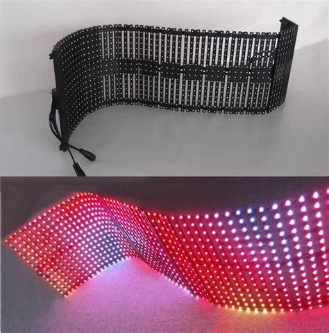flexible led video curtain flexible led video curtain display soft led screen folding