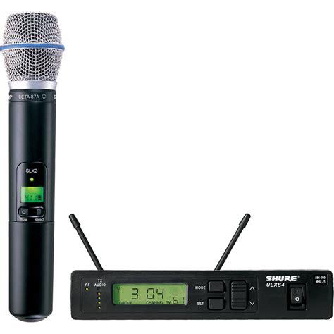 Mic Shure Ulx 4nkoper Alumenium Wireless shure ulx single channel uhf wireless handheld ulxs24 beta87a j1