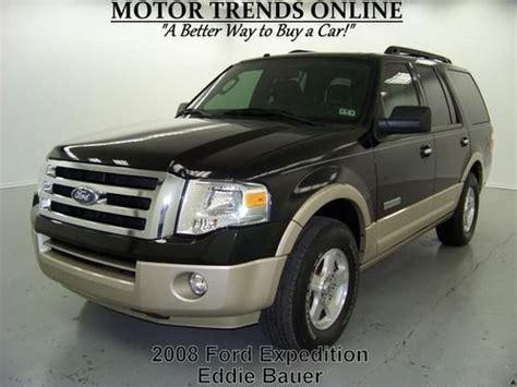 where to buy car manuals 2008 ford expedition el auto manual buy used eddie bauer navigation sync leather mem seats 8 pass 2008 ford expedition 52k in alvin