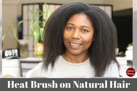 does the apalus hair brush actually straighten hair a does using a heat brush on natural hair really work a