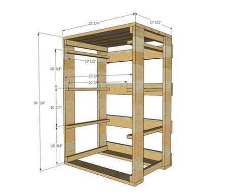 wood pallet dresser plans woodworking projects plans