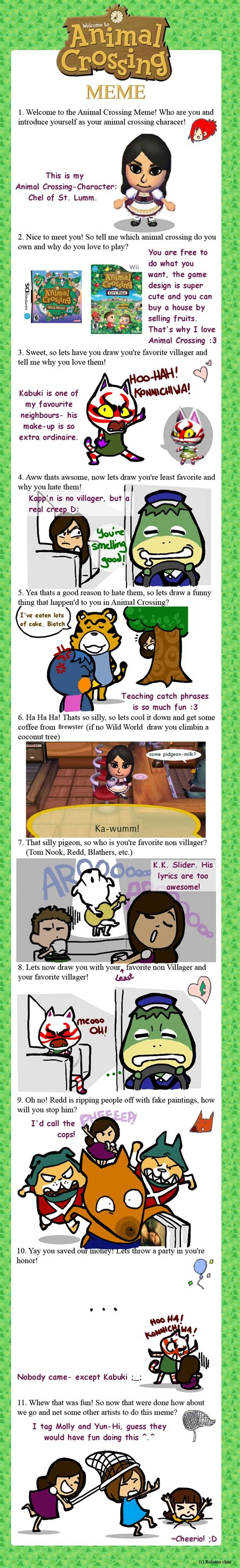 Animal Crossing Memes - animal crossing meme by shiolein on deviantart