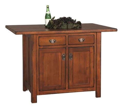 amish furniture kitchen island design your own custom amish made kitchen island mission