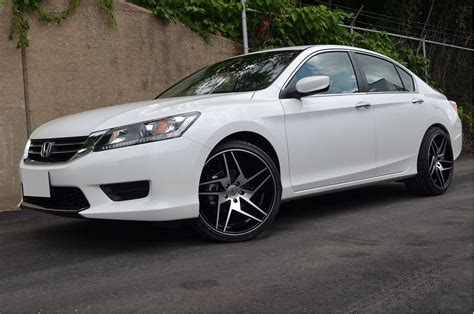 honda accord 20 inch rims 4 gwg wheels 20 inch black razor 20x10 5 rims fits honda