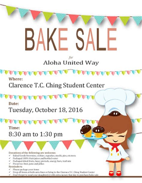 Calling All Sale by Sacred Hearts Academy The Calling All Bakers Auw
