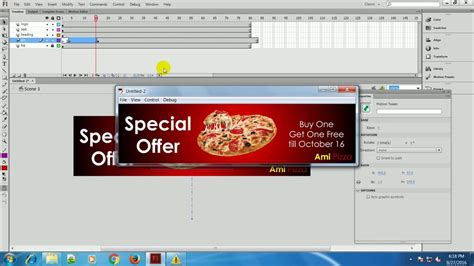 tutorial web banner flash adobe flash animation banner tutorials youtube
