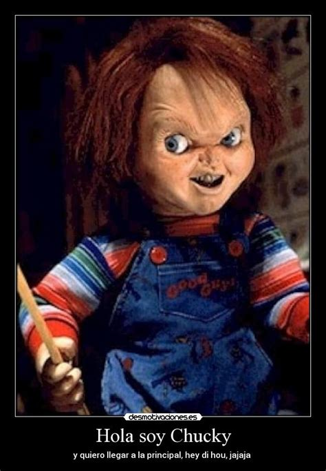 Memes De Chucky - hola soy chucky desmotivaciones