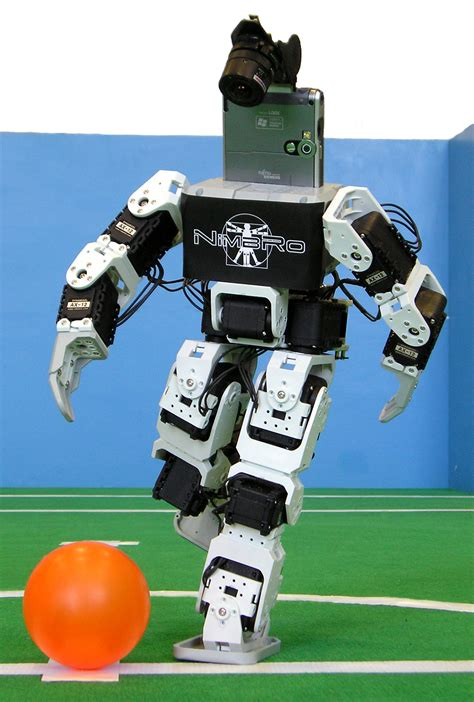 Dribling Robot Soccer Robot annual robocup attracts the top robots from across the globe