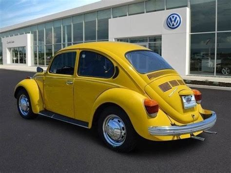 volkswagen bug yellow seller of cars 1973 volkswagen beetle