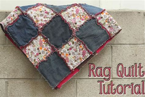 quilting tutorial step by step rag quilt a step by step tutorial iseeidoimake