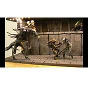 Alien Vs Predator Custom Diorama By Meiler CUSTOM Toys