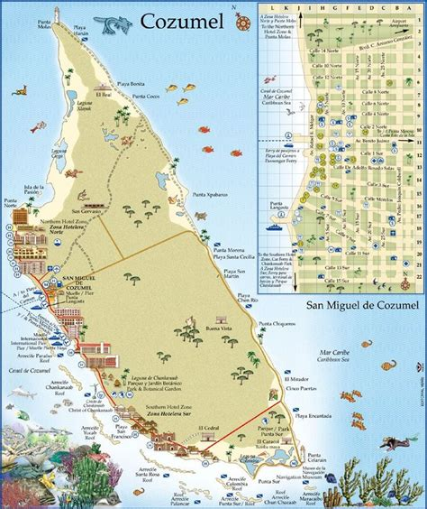 map of mexico cancun and cozumel cozumel by the world a month search and
