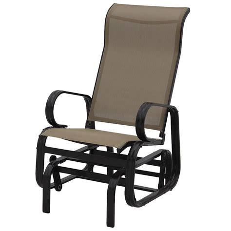 rocker armchair durable patio glider rocking armchair outdoor chairs