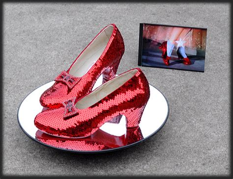 ruby slippers auction price image judy garlands ruby slippers for sale on ebay jpg