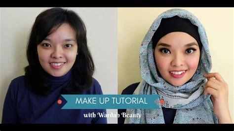 tutorial wardah cosmetic tutorial makeup no makeup for idul fitri with wardah
