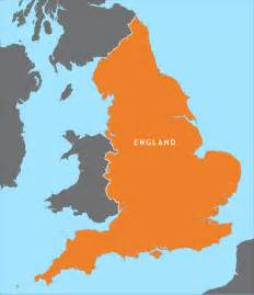 England Map by England Outline Map Royalty Free Editable Vector Map