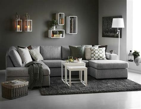 deco salon avec canape gris d 233 co salon gris 88 id 233 es pleines de charme