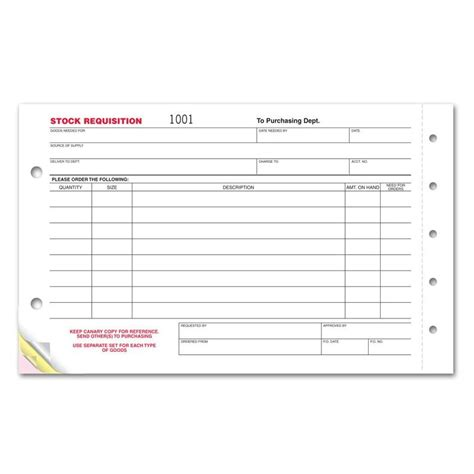 stock request form template stock requisition form designsnprint