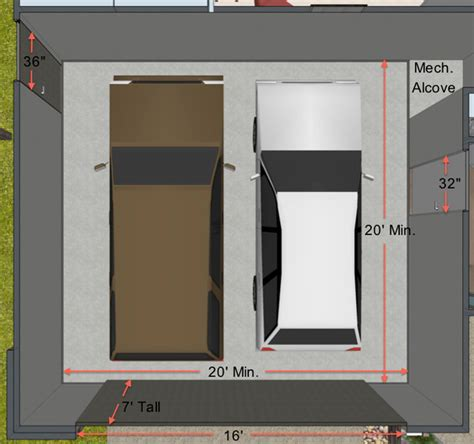 garage length key measurements for the perfect garage amarr garage doors