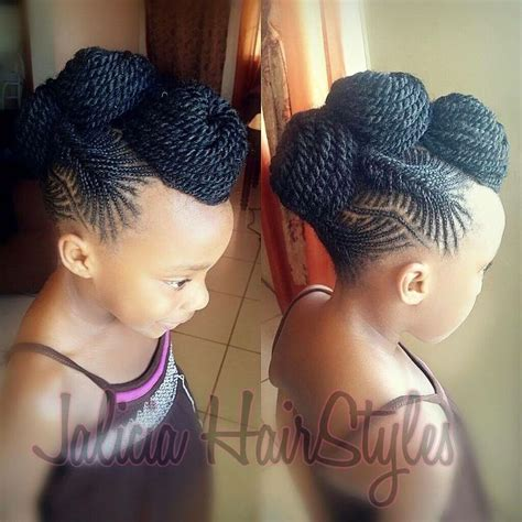 short braided style for babies 554 best images about natural hairstyles children on