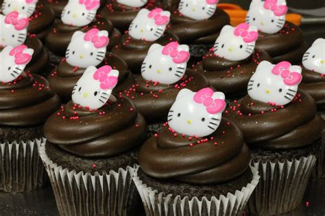 Hello Kitty Cupcakes   Orange County