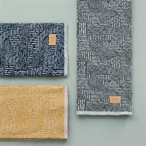 Decke Groß Baumwolle by Ferm Living Maze Decke Kariert Grau Baumwolle 120x150cm