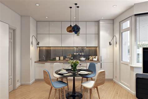 Agradable Sillas Barra Cocina #6: Decorar-cocinas-pequenas-mesa-sillas-modernas.jpg
