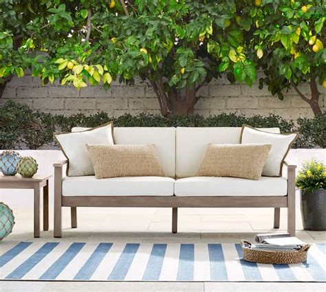 pottery barn outdoor sofa pottery barn outdoor furniture sale 30 off sectionals