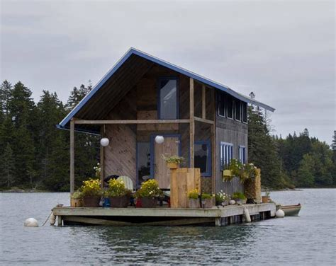 Custom Made Cabins by Built Floating Cabin The House
